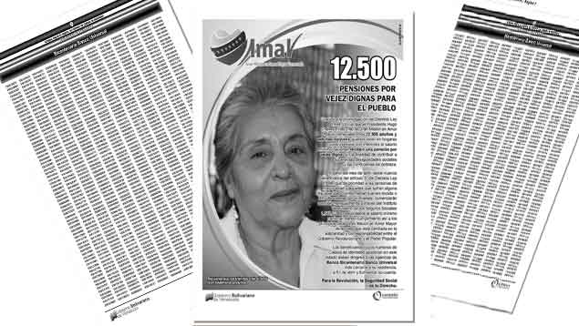 Lista de 12.500 nuevos pensionados. (Créditos: ÚN)
