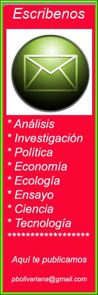 Escribe a prensabolivariana