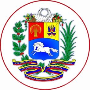 ESCUDO VENEZUELA CIRCULAR