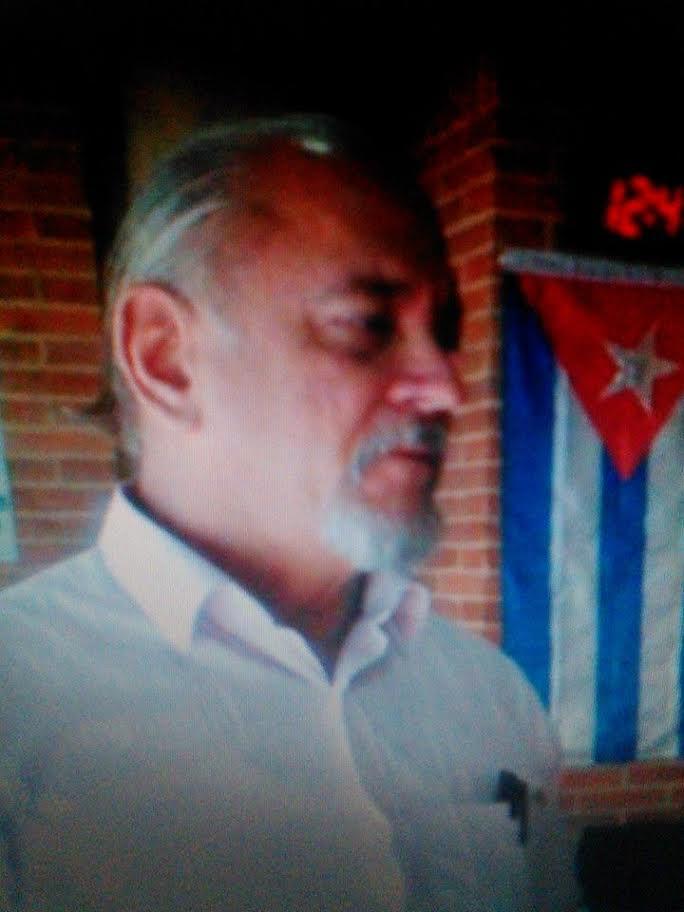 Gabriel Obando, presidente del comité colombiano de solidaridad