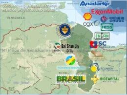 Mapa de trasnacionales en el Esequibo (1)