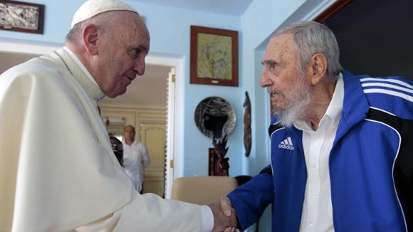papa-francisco-con-fidel-castro