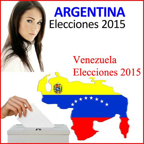 ELECCIONES ARGENTINA Y VENEZUELA 2015