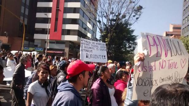 marcha vendedores