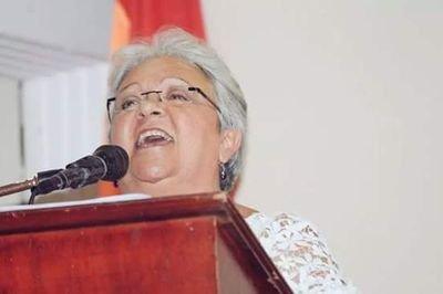 Imelda Daza Cotes, dirigente nacional de la Unión Patriótica UP