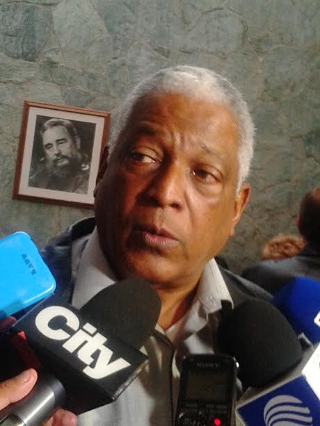 Embajador de cuba en Colombia, lic. José Luis Ponce.