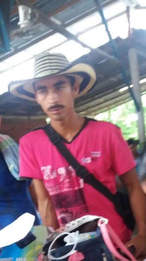 icepresidente de la Asociación Campesina ASODECAS, José Yimer Cartagena Úsuga. Asesinado vilmente.
