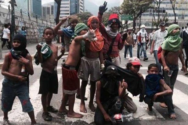 Venezuela-menores-oposicion