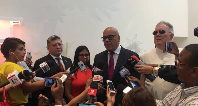 Resultado de imagen para dialogo oposicion rangel y chavez