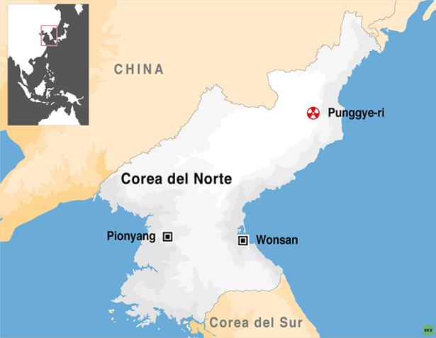 coreadelnorte-mapa