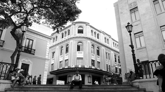 Teatro Principal del centro histórico de Caracas