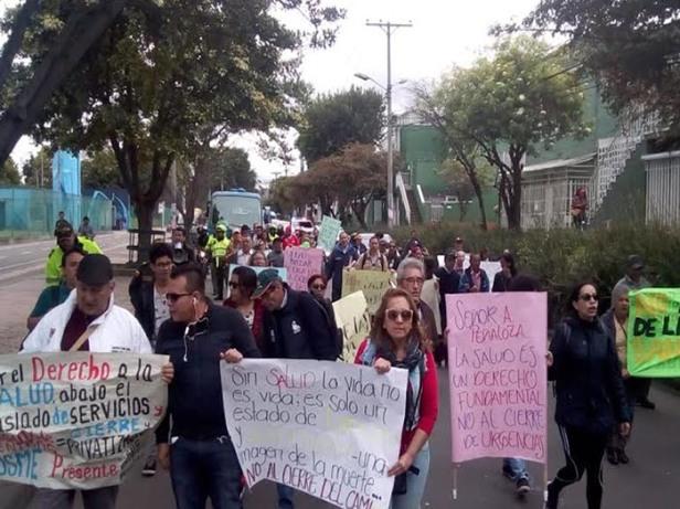 protesta-salud-san-isidro-ciudad-Bolivar